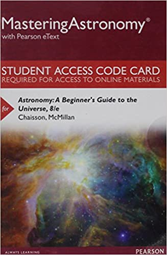 mastering astronomy pearson