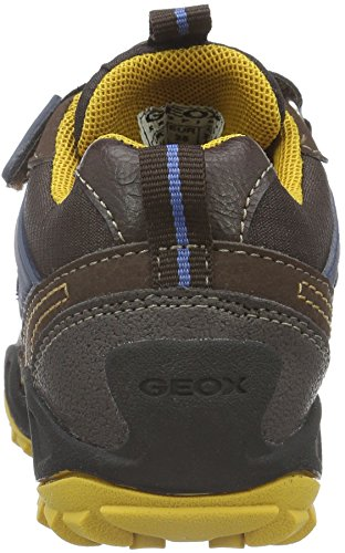 Geox New Savage Boy B ABX D - Zapatillas Para Niños Braun (Brown/Dk YELLOWC6F2G)
