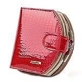 ShenPr Clearance/Hot Sale Women Letters Tassel Zipper Short Wallet Coin Purse Card Holders Handbag (10# Red)