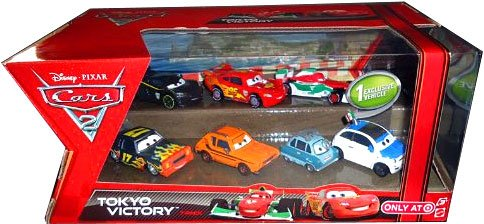 cars 2 diecast pack - 9