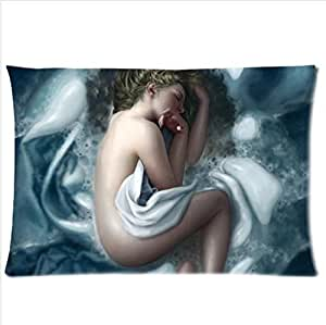Best Seller Charming Sleeping Woman-Botticelli Birth of Venus Pillowcase,New Pillow Case Pillow Inner Included 20x30(One side)