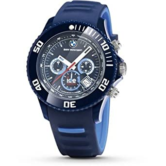 BMW MOTORSPORT CHRONO ICE-WATCH BIG - LIGHT BLUE