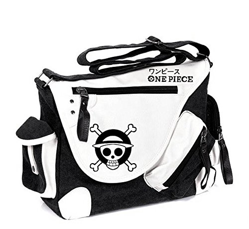Siawasey One Piece Anime Cosplay Handbag Backpack Messenger Bag Shoulder Bag