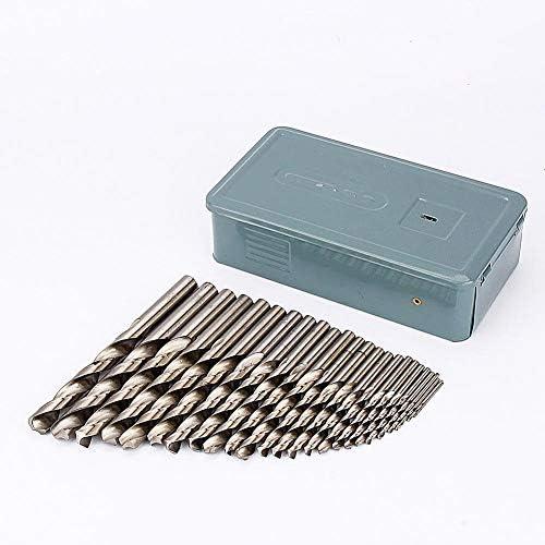 AMAZING1 o Drill Bit Set, 1mm-13mm 25pcs HSS Twist Steel Drill Bit Set with Carry Case