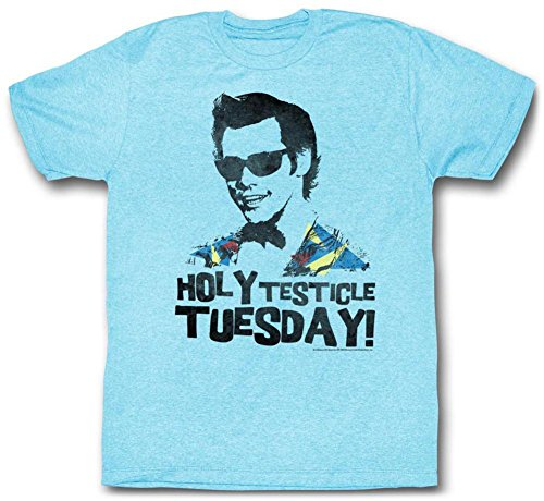 Ace Ventura - Tuesday T-Shirt - Blau