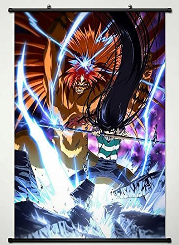 Amazon Com Ushio And Tora Wall Scroll Poster Fabric Painting For Anime Ushio Aotsuki Tora 003 L Posters Prints