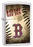 Zippo Boston Red Sox MLB Baseball Sports Brushed Lighter