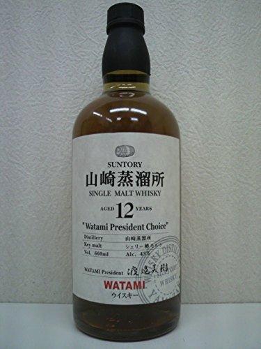 サントリー 山崎蒸留所 12年 シェリー樽モルト 660ml Suntory Single Malt Whiskey Yamazaki 12 year old Sherry Cask B00WT0AB4O