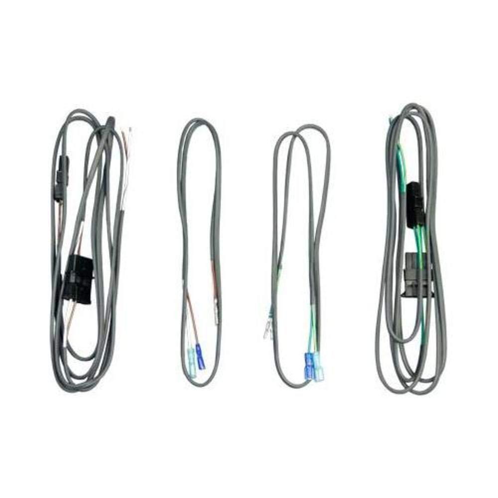 J&M Audio Rear Speaker Wiring Harness kit for 1998-2013 Harley-Davidson on