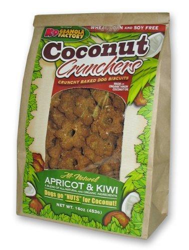 K9 Granola Factory Apricot And Kiwi Coconut Crunchers