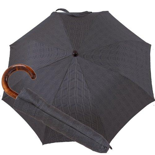 Oertel Handmade pocket umbrella - glencheck grey by Oertel Handmade