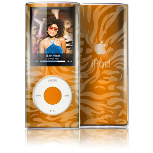 - iSkin ISKVBSN4GCE Vibes Clear Skin Bodyguard for iPod Nano 4G - Camouflage