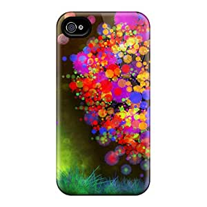 Protective Cases With Fashion Design For Iphone 6 (autumn Leaf Color)