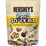Hershey's Cookies 'n' Crème Popped Snack Mix, 8 Oz (3Pack)