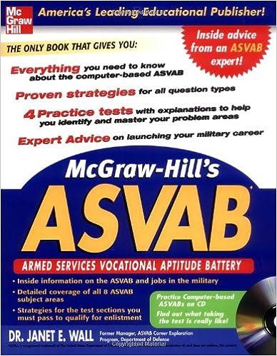 McGraw-Hill's ASVAB with CD-Rom (McGraw-Hill's ASVAB (W/CD))