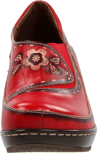 Scarpe Da Donna Primavera Passo Rosso Burbank