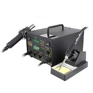Estación SMD BK-702B de Soldadura 270W y Mantenimiento 100-420°C Pistola de Aire