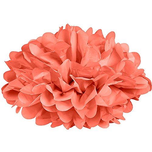 Dress My Cupcake Coral Tissue
