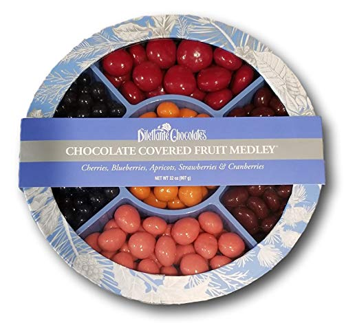Chocolate Fruit Medley Wheel - 32oz - Dilettante ()