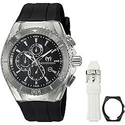 Technomarine Men's TM-115042 Cruise Original Analog Display Quartz Black Watch