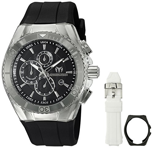 Technomarine Men's TM-115042 Cruise Original Analog Display Quartz Black ()