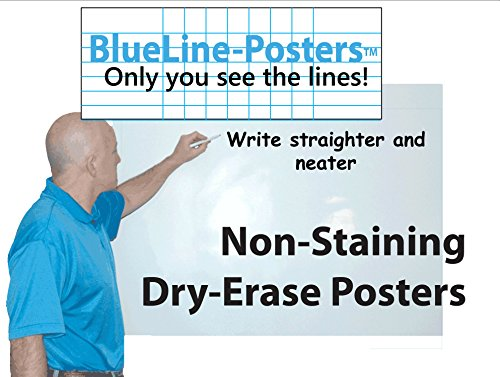 Jumbo Huge Dry-Erase BlueLine Dry-Erase Poster: 38 in. X 58 in. by PlanetSafe Planners & Calendars (Image #5)
