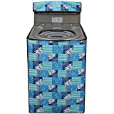Stylista Washing Machine Cover for BPL 6.2 kg BFATL62K1 Fully-Automatic Top Load Printed Pattern