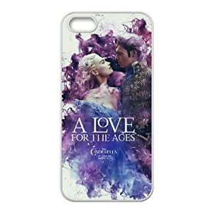 Cinderella iPhone5s Cell Phone Case White Customize Toy zhm004-3905449