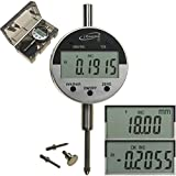 """iGaging Digital Electronic Indicator 0-1""""/0.0005"""" GAGE Gauge w/ 4 Probes - Absolute and Hold Functions Inch/Metric Conversion"""