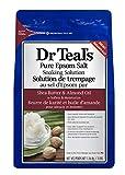 dr teal's shea butter & almond oil epsom salt, 1.36 kilogram