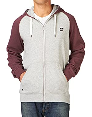 Mens Major Raglan Fashion Zip Up Hoodie