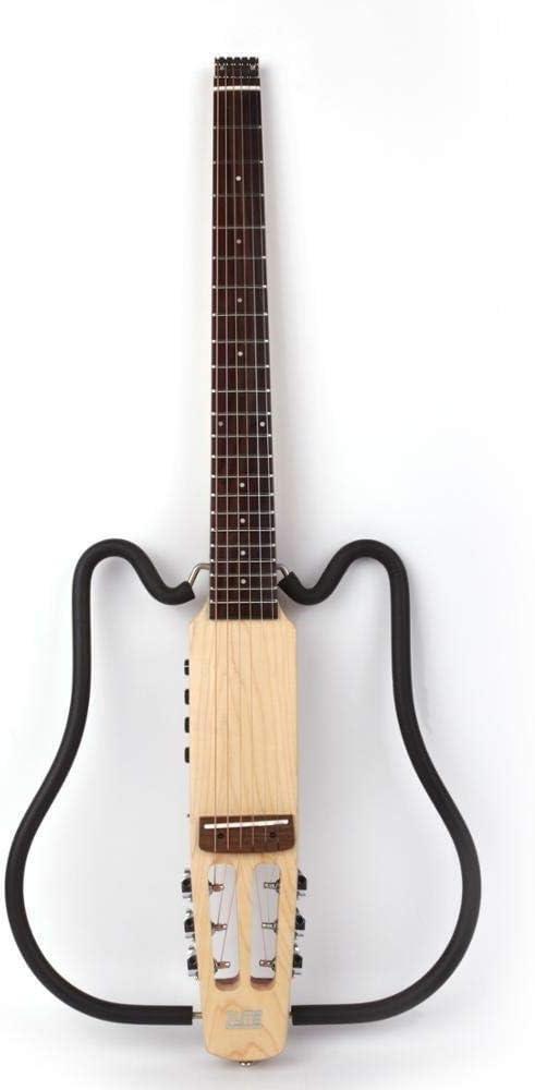 Guitarra eléctrica Sound Sin Cabeza Guitarra Silenciosa De Silencioso Guitarra Derecha Mano Derecha Mano Izquierda Viaje Portátil Viaje Portátil Incorporado En Efecto Conjunto Accesorios de guitarra F