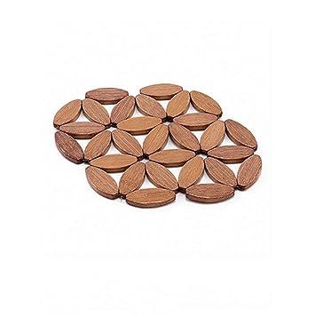 Warmekissen Thick Naturliche Bambus Tischset Heisse Kaffeetasse Pad