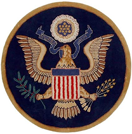 780f7ad72 Amazon.com: United States Great Seal Rug: Kitchen & Dining