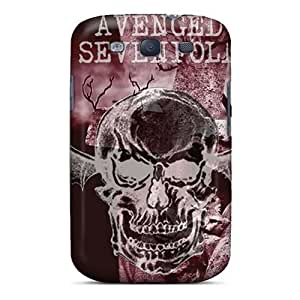 ChristopherWalsh Samsung Galaxy S3 Shock-Absorbing Hard Phone Cover Customized Vivid Avenged Sevenfold Pattern [qvn13450MtSi]