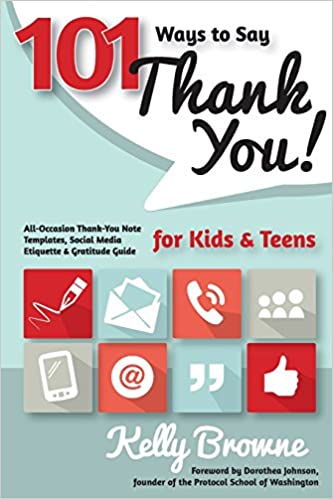 amazon com 101 ways to say thank you kids and teens all occasion