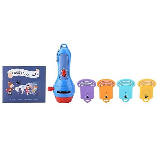 Toy Story Proyector de linterna para niños, historias de camas ...