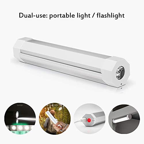 UYLED Portable LED Camping Light, Dimmable Lighting Stick, USB Rechargeable Magnetic Hanging Lighting Bar for Emergency Camp Lantern, Hiking Lamp, Biking Gear Equipment Q8T