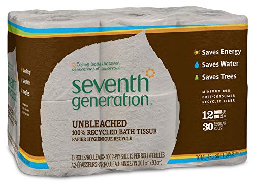SEV13735 - Seventh Generation Recycled Unbleached Bathroom Tissue (Bath Tissue Seventh Generation)