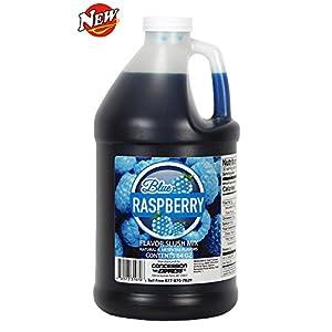 Concession Express Slush & Slushy Mix 1/2 Gallon (Blue Raspberry)