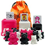 Skoolzy Preschool Learning Toys – Size, Position, Counting Bears with Matching Cups, Dice Educational Teaching Supplies –34pc Color Sorting Bear Counters Toys For 3 4 5 6 Year Old Boys or Girls, Ebook