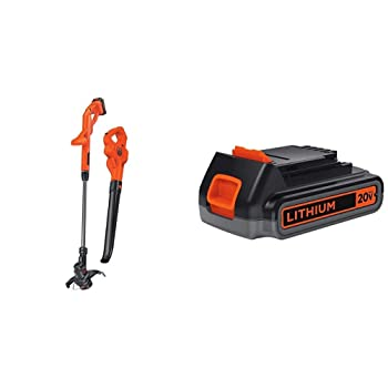 BLACK+DECKER String Weed Eater with Sweeper Combo Kit