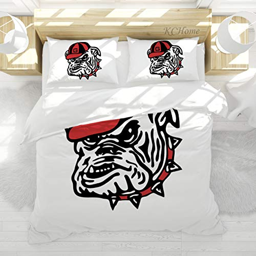 georgia bulldogs comforter queen - 7