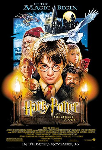Harry Potter And The Sorcerer's Stone - Movie Poster (Regular Style) (Size: 27'' x 40'') (By POSTER STOP ONLINE)