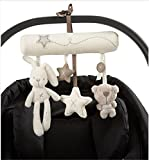 Hangqiao Baby Music Plush Activity Crib Stroller Soft Toys Rabbit Star Shape