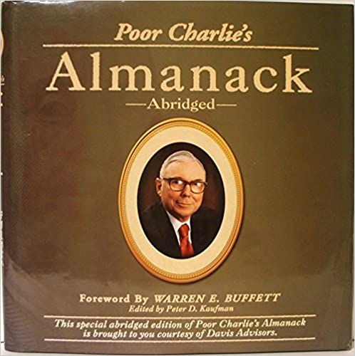image for Poor Charlie's Almanack: The Wit and Wisdom of Charles T. Munger (Abridged)