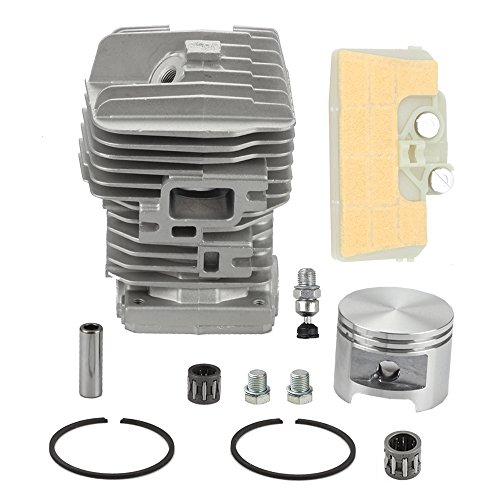 Harbot Pack of 49mm Cylinder Piston Kits with Bearing Decompression Valve Plug for STIHL MS390 MS310 MS290 029 039 - Stihl Engine