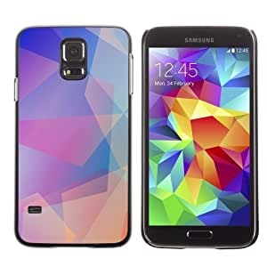 Designer Depo Hard Protection Case for Samsung Galaxy S5 / Cool Abstract Pastel Pattern