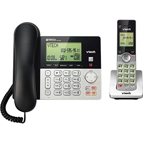 Dual Handset Phone (VTECS6949 - VTECH VTCS6949 Corded Cordless 2-Handset Telephone System with Dual Caller ID)