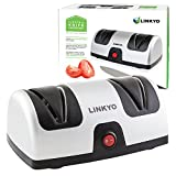 Appliances : LINKYO Electric Knife Sharpener, Kitchen Knives Sharpening System